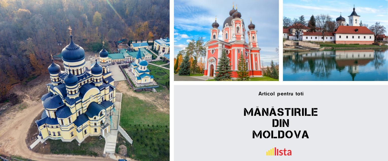 ⛪Manastirea Capriana şi cele mai frumoase Mănăstiri din Moldova