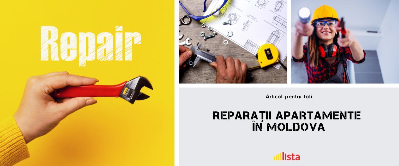 TOP-8 Firme de Reparatii Apartamente la Cheie in Moldova