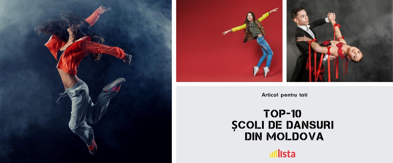 TOP-10 Scoli de Dansuri Moderne in Moldova?