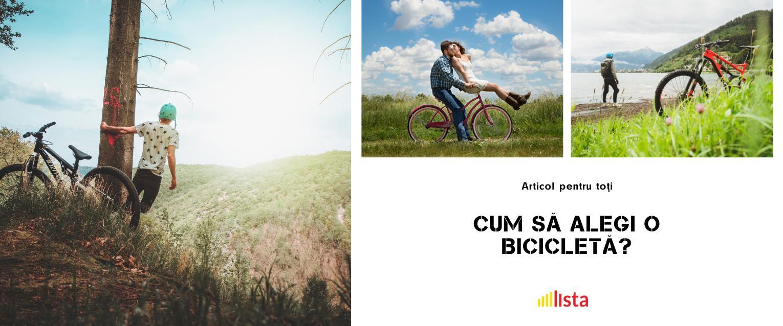 Sfaturi utile: Cum să alegi o bicicletă?