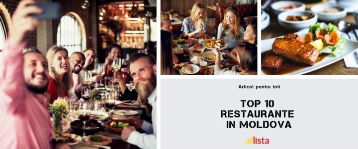 Top 10 Cele Mai Bune Restaurante Din Republica Moldova