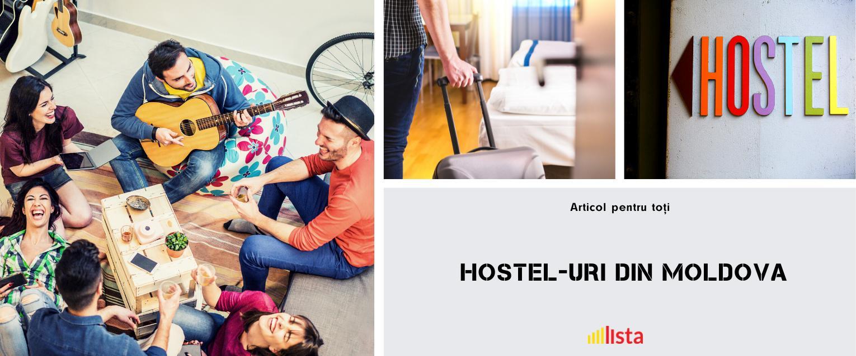 Cele mai populare 6 hostel-uri din Chisinau
