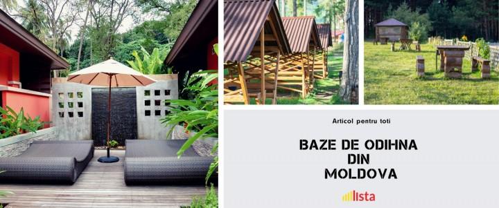Cea mai buna Baza de Odihnă in Moldova