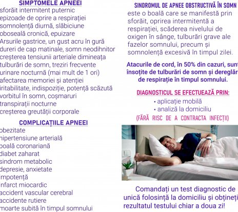 Ofertă - dispozitiv pentru diagnosticarea sforaitului si apneei in somn