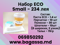 Set Bagassa small